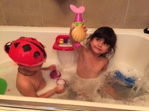 So happy to have a bath tub again!